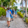 Walking through Lelepa Island day tour Village