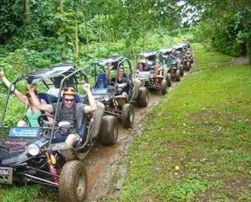 Fun buggy tours in Vanuatu