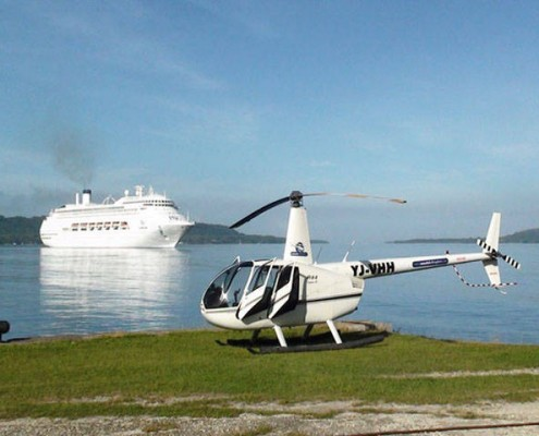 Helicopter Tour of Port Vila