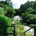 Lololima cascades and waterfalls near Port Vila, Vanuatu