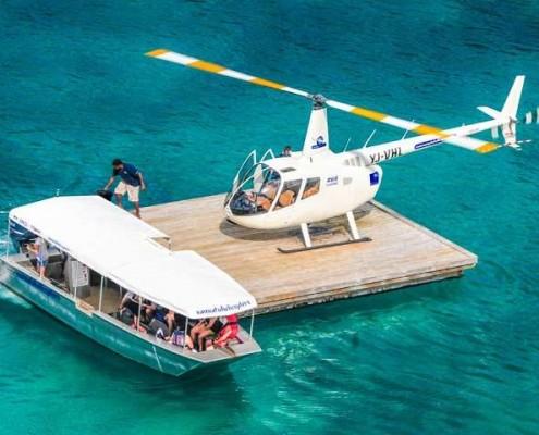 helicopter tours vanuatu