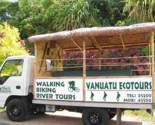 The transport for the walking tour