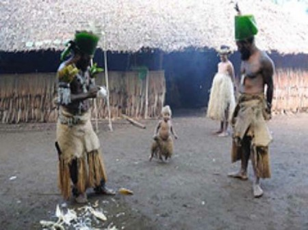 cultural experience in traditional village in Vanuatu