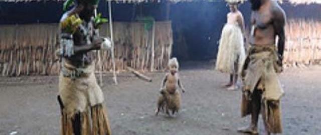 cultural experience in traditional village in Vanuatu