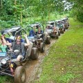 Jungle buggy ride near Port Vila