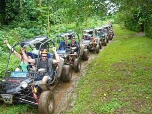 Jungle buggy ride near Port Vila