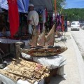 Handicrafts on cultural tour from Port Vila.