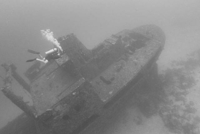 wreck dive in Port Vila, Vanuatu