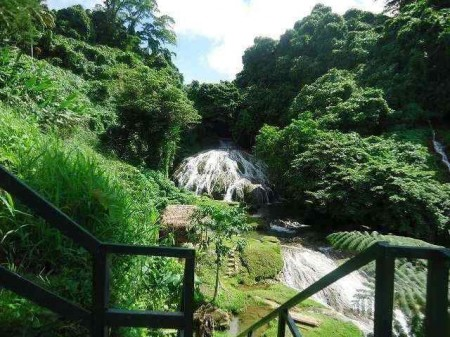 Waterfalls near Port Vila