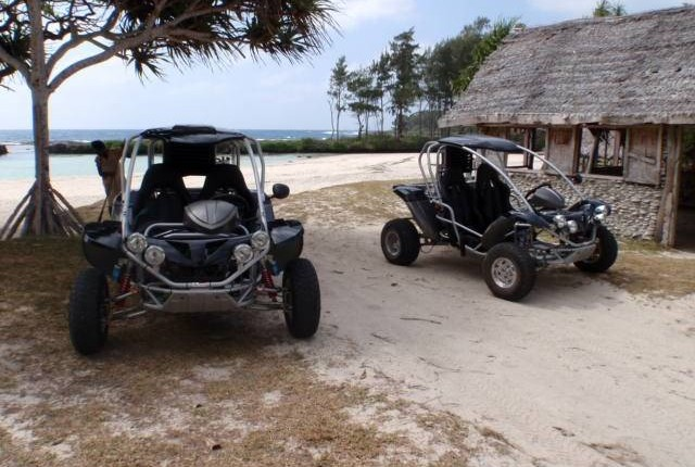 buggy beach parking