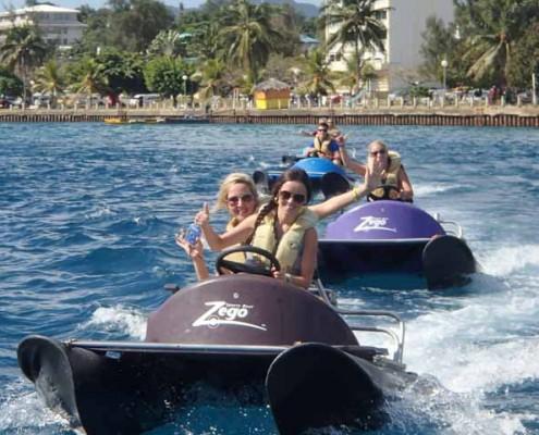 Zego is an amazing water activity in Vanuatu
