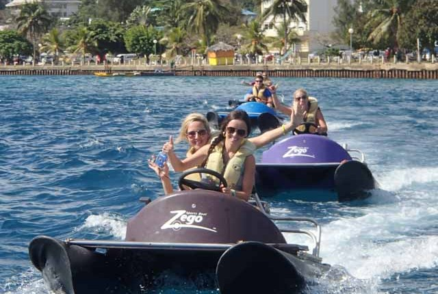 Zego is an amazing water activity in Vanuatu