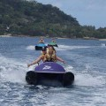 Fun on the Water with the Zego Activity in Vanuatu Harbour