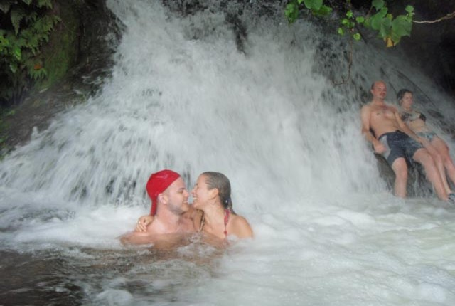 Lololima waterfalls and canyon tour ecotours Port Vila