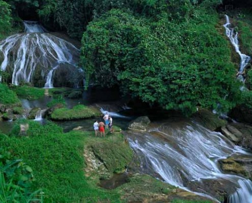 Lololima waterfalls on ecotours