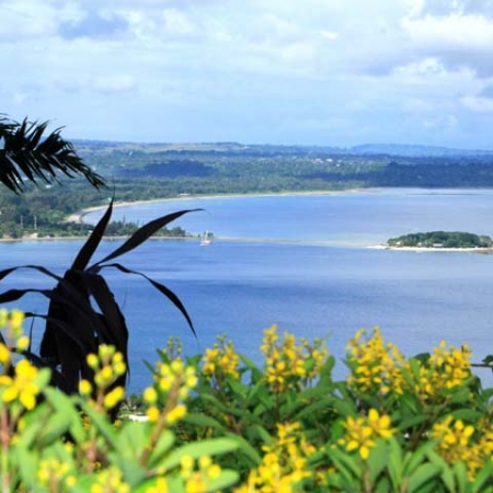 View from the Summit on The Port Vila Tour