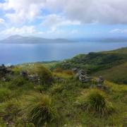 redVanautu team completes piste bleue walking through Vanuatu