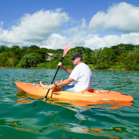 Kayaking tour in Port Vila