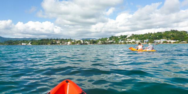 Kayaking in Port Vial