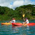 Kayaking in Vanuatu