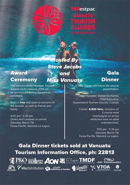 Vanuatu Tourism Awards 2014