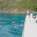 Charter sailing boat