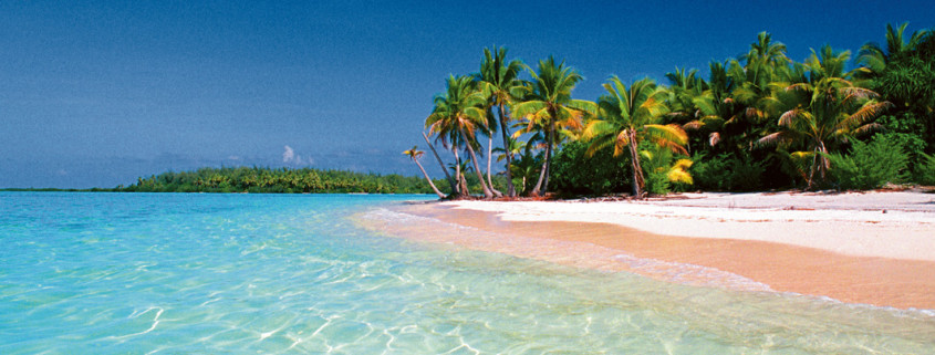 Beach in Vanuatu by Phillippe Metois