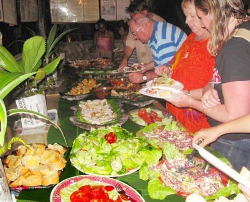 The Secret Garden Melanesian Feast