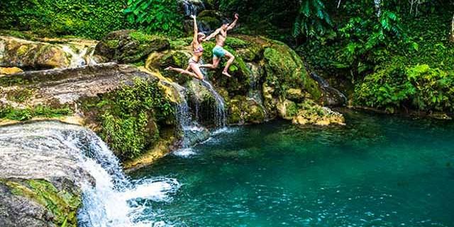 Port Vila tour to the Lololima cascades waterfalls