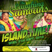 The Laughing Samoans comedy show on in Vanuatu