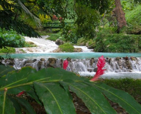 Vanuatu's famous Mele waterfall