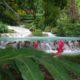 Vanuatu's famous Mele cascades waterfall