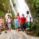 Waterfall cascades tour in Vanuatu