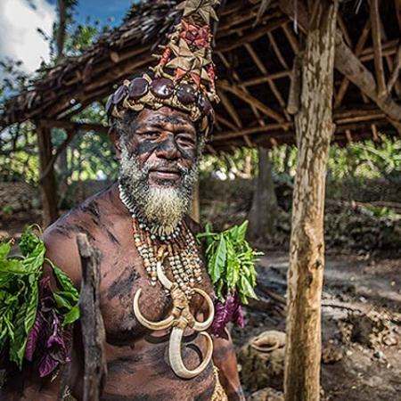 Visit to cultural village on around Island tour