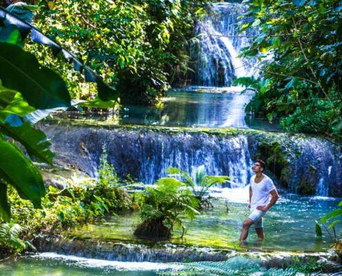 Beautiful Cascade Waterfalls